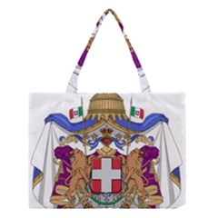 Greater Coat of Arms of Italy, 1870-1890  Medium Tote Bag