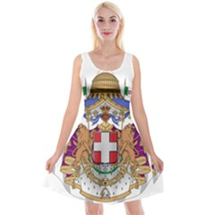 Greater Coat of Arms of Italy, 1870-1890  Reversible Velvet Sleeveless Dress