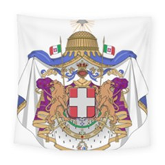 Greater Coat of Arms of Italy, 1870-1890  Square Tapestry (Large)
