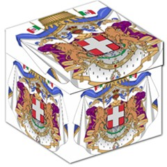 Greater Coat of Arms of Italy, 1870-1890 Storage Stool 12