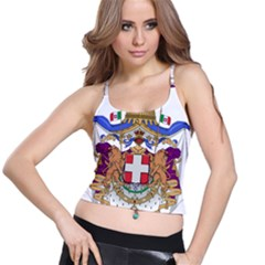 Greater Coat of Arms of Italy, 1870-1890 Spaghetti Strap Bra Top