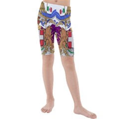 Greater Coat of Arms of Italy, 1870-1890 Kids  Mid Length Swim Shorts