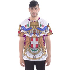 Greater Coat of Arms of Italy, 1870-1890 Men s Sports Mesh Tee