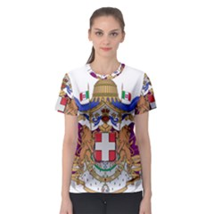 Greater Coat of Arms of Italy, 1870-1890 Women s Sport Mesh Tee