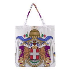 Greater Coat of Arms of Italy, 1870-1890 Grocery Tote Bag