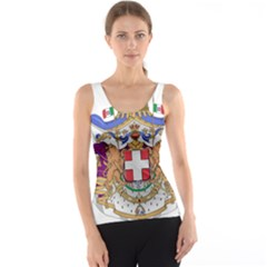 Greater Coat of Arms of Italy, 1870-1890 Tank Top