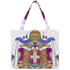 Greater Coat of Arms of Italy, 1870-1890 Mini Tote Bag