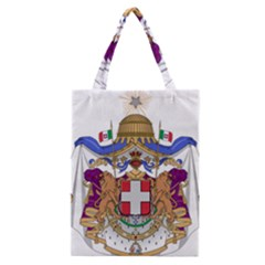 Greater Coat of Arms of Italy, 1870-1890 Classic Tote Bag