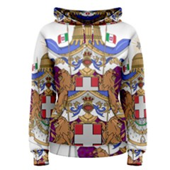 Greater Coat of Arms of Italy, 1870-1890 Women s Pullover Hoodie
