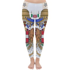 Greater Coat of Arms of Italy, 1870-1890 Classic Winter Leggings