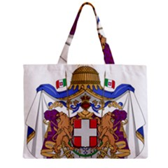 Greater Coat of Arms of Italy, 1870-1890 Zipper Mini Tote Bag