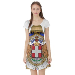 Greater Coat of Arms of Italy, 1870-1890 Short Sleeve Skater Dress