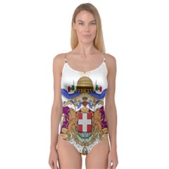 Greater Coat of Arms of Italy, 1870-1890 Camisole Leotard