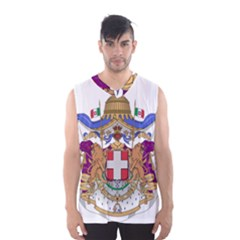 Greater Coat of Arms of Italy, 1870-1890 Men s Basketball Tank Top