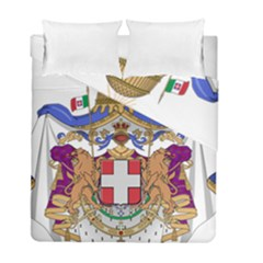 Greater Coat of Arms of Italy, 1870-1890 Duvet Cover Double Side (Full/ Double Size)
