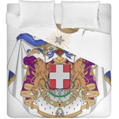 Greater Coat of Arms of Italy, 1870-1890 Duvet Cover Double Side (King Size)