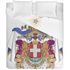 Greater Coat of Arms of Italy, 1870-1890 Duvet Cover Double Side (California King Size)