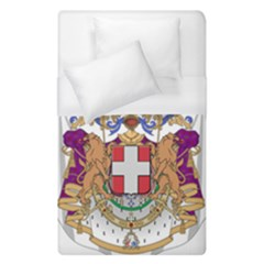 Greater Coat of Arms of Italy, 1870-1890 Duvet Cover (Single Size)