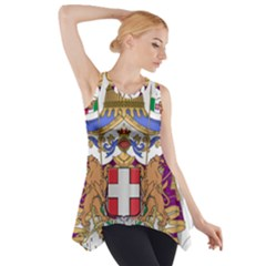 Greater Coat of Arms of Italy, 1870-1890 Side Drop Tank Tunic