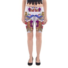 Greater Coat of Arms of Italy, 1870-1890 Yoga Cropped Leggings