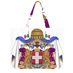 Greater Coat of Arms of Italy, 1870-1890 Large Tote Bag