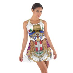 Greater Coat of Arms of Italy, 1870-1890 Cotton Racerback Dress
