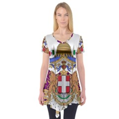 Greater Coat of Arms of Italy, 1870-1890 Short Sleeve Tunic