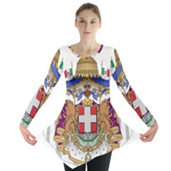 Greater Coat of Arms of Italy, 1870-1890 Long Sleeve Tunic
