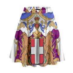Greater Coat of Arms of Italy, 1870-1890 High Waist Skirt