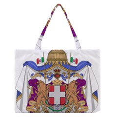 Greater Coat of Arms of Italy, 1870-1890 Medium Zipper Tote Bag