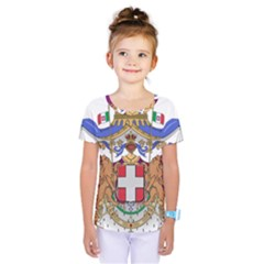 Greater Coat of Arms of Italy, 1870-1890 Kids  One Piece Tee