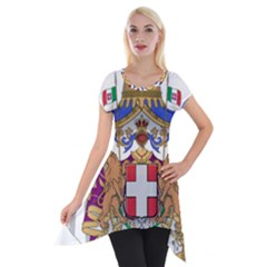 Greater Coat of Arms of Italy, 1870-1890 Short Sleeve Side Drop Tunic