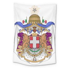 Greater Coat of Arms of Italy, 1870-1890 Large Tapestry