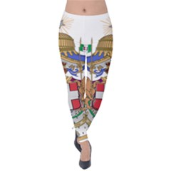 Greater Coat of Arms of Italy, 1870-1890 Velvet Leggings