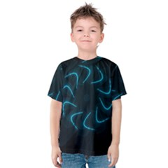 Background Abstract Decorative Kids  Cotton Tee