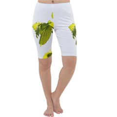Leaves Nature Cropped Leggings