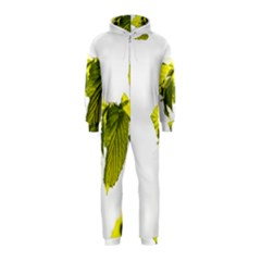 Leaves Nature Hooded Jumpsuit (Kids)