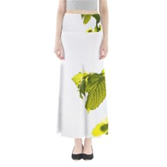 Leaves Nature Maxi Skirts