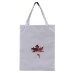 Winter Maple Minimalist Simple Classic Tote Bag