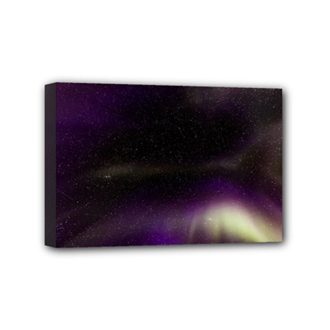 The Northern Lights Nature Mini Canvas 6  X 4