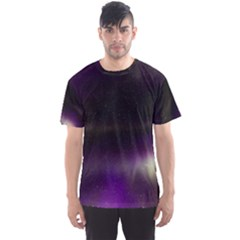 The Northern Lights Nature Men s Sports Mesh Tee