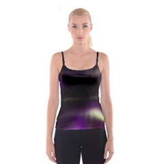 The Northern Lights Nature Spaghetti Strap Top