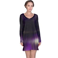The Northern Lights Nature Long Sleeve Nightdress