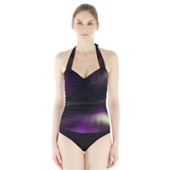 The Northern Lights Nature Halter Swimsuit
