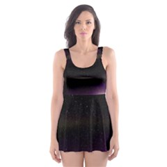 The Northern Lights Nature Skater Dress Swimsuit