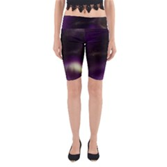 The Northern Lights Nature Yoga Cropped Leggings