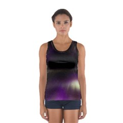 The Northern Lights Nature Women s Sport Tank Top