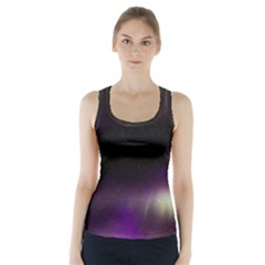 The Northern Lights Nature Racer Back Sports Top