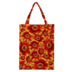 Gerbera Flowers Nature Plant Classic Tote Bag