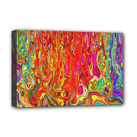 Background Texture Colorful Deluxe Canvas 18  X 12